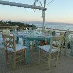 Stunning views across Kolios beach