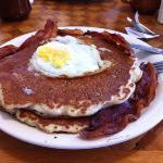 pancake con uova