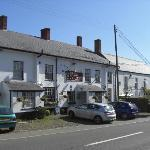 The outside of the pub