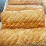 Golden, flaky sausage rolls