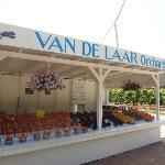 Van de Laar orchards fruit stand