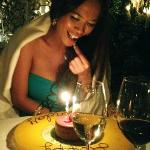 Birthday surprise at the Olivo
