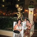 Mickey in the atrium