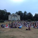 museum grounds have free movies most evenings in may-July