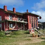 Vista general del hostel