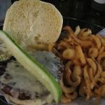 Burger and fries...super!