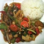 Spicy Eggplant and Chicken