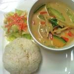Lunch Red Curry Chicken