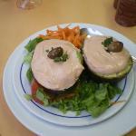 Frozen Prawn Salad - Terrible