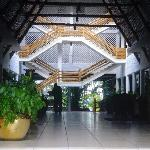 Inside the Main Entrance to Travellers Beach Hotel