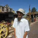 Shawn, our guide - always smiling, very knowledgeable!