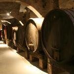 Monks wine barrels