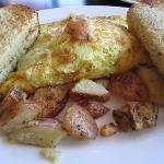 Pulled Pork Omelet