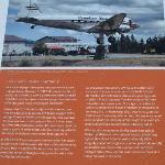 Whitehorse - DC-3 weathervane information board