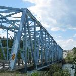 Yukon River - the big blue bridge