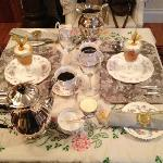 Another picture of breakfast table