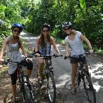 Bike ride around Ubud