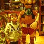 Con el gaucho Uruguayo