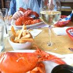 Purple Shamrock Lobster Dinner