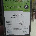 Good hygene certificate