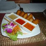 Spring rolls with shrimps - super delicious