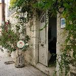entrance of Aigli hotel, lovely street
