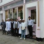 Jaipur staff and restaurant - 2012