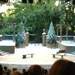 The set of Twelfth Night - Summer 2012