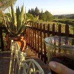Apero time by sunset