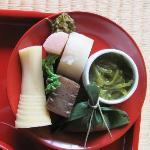 Zen cuisine at Shigetsu