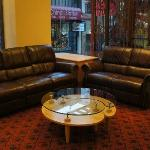 Couches at the lobby