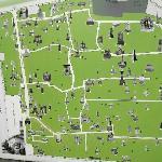 Tikhvin Cemetery map