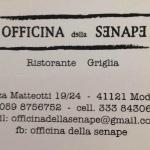 OFFICINA dellla SENAPE