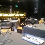 Restaurant on the mezonine (before breakfast =))