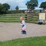outside the play area