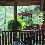 View of our porch from main deck