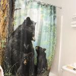 Loved the shower curtain