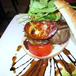 the best burger with foie gras