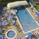 Swimming pool from 9th floor