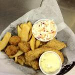 Our Friday Fish Lunch Basket
