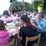 repas avec de nouveaux amis (on va se revoir)