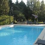 Vive la piscine par temps chaud!