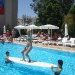 конкурсы у бассейна
