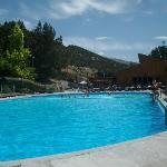 Summer pool, Heise Hot Springs