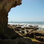 Praia Gale Beach, rockpools when the tide is out