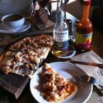 pizza puerto Madero deliciosa!