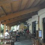 esterno ristorante Garden