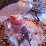 Parfait - one of the mini desserts
