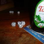 Liar's Dice and a cold Toña.