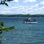 Mail boat on Skaneateles Lake